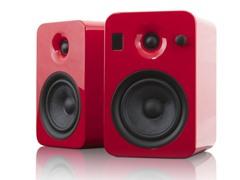 YUMI Speakers w/Bluetooth - Gloss Red