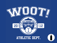 2012 Woot Athletic Dept Water Bottle
