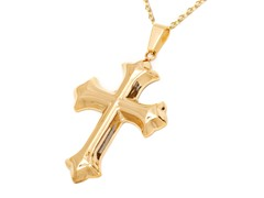 18k Gold Plated Stainless Steel Pendant