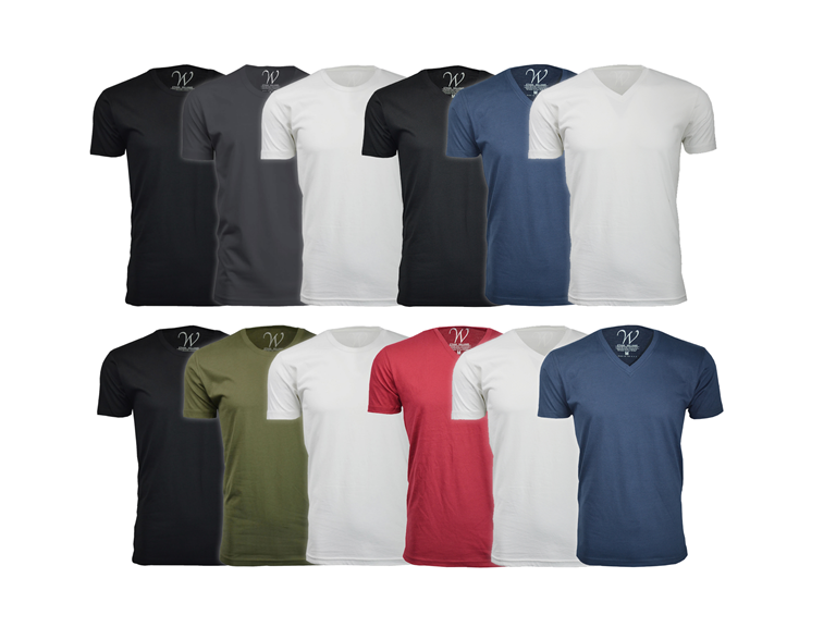 E.W. Soft Sueded Semi-fitted T-Shirt 3Pk