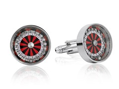 SD Man Roulette Cufflinks