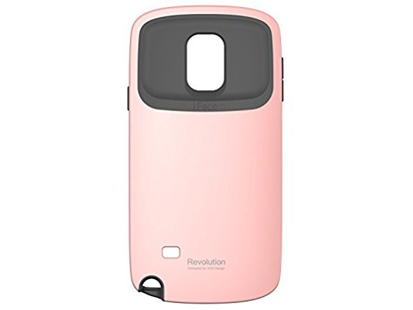 iFace Carrying Case for Samsung Galaxy Note 4 - Retail Packaging - Baby Pink FF33629A