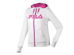 Fila Performance Hoody - White/Pink