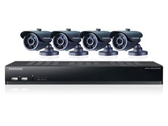 8-Channel / 4-Camera DVR Security System w/ 500GB HDD