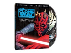 The Clone Wars Season 4 [DVD]