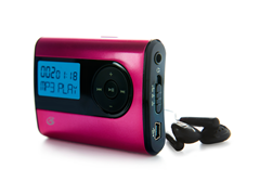 GPX 2GB MP3 Player - Pink