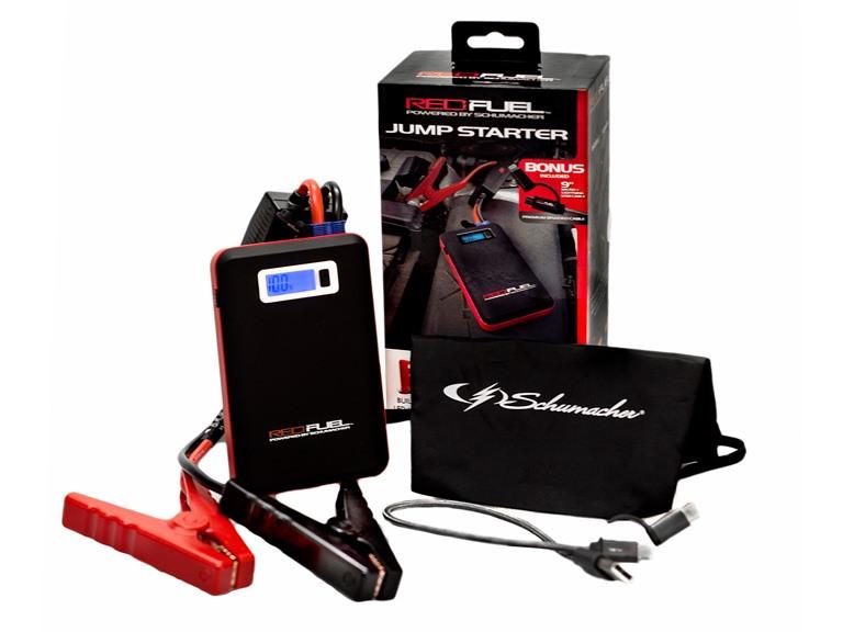 Red Fuel Power 8000mAh Jump Starter