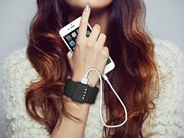3000 mAh Wristband Power Banks
