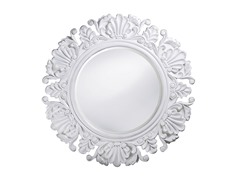 Anita Mirror in Glossy White