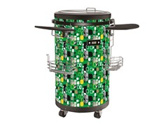 Equator Refrigerated Party Beverage Cooler, Green