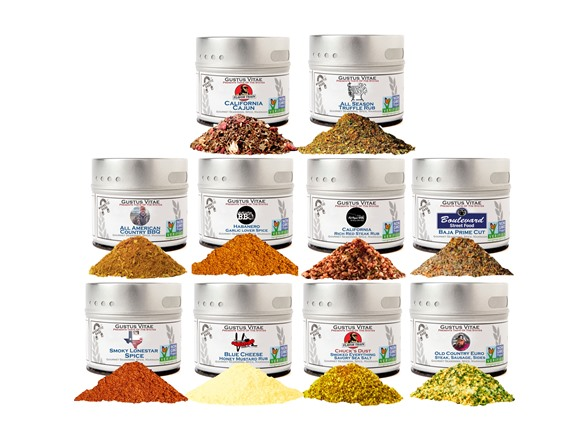 10-Pack Gustus Vitae Spices Collection