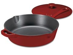 Cuisinart Cast Iron Chicken Fryer - Red