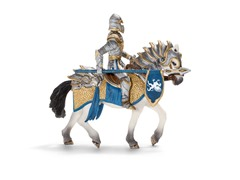 Griffin Knight with Lance & Horse