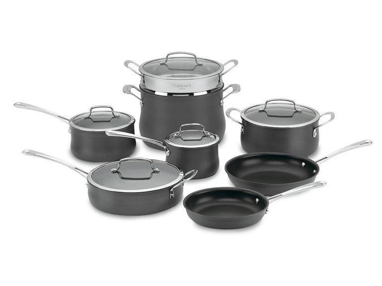 Cuisinart 13-Pc Hard Anodized Set