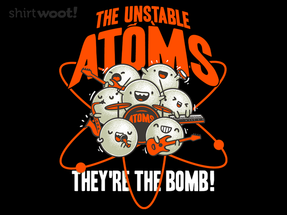The Unstable Atoms 8acc7b92-c1b8-4360-850f-4afd47d7b29c