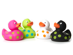 Bath Floaters - Kool Duckies 4-Pack