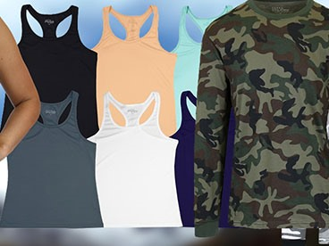 Men's and Women's Workout Apparel by Harvic