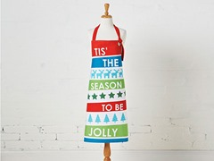 Jolly Stripe Apron