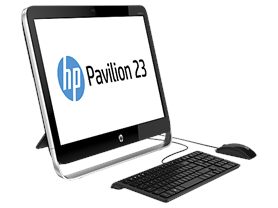 "HP Pavilion 23"" Quad-Core AIO Desktop"