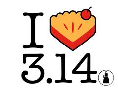 I Heart Pi(e) Apron