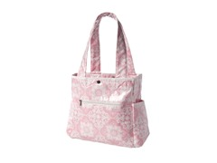 Versailles Pink Tulip Tote Diaper Bag