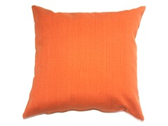 16-Inch Throw Pillow, 2-Pack - Orange