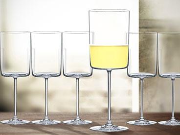 Ultima Modern Chardonnay Glasses