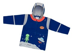 Space Hero Rain Coat