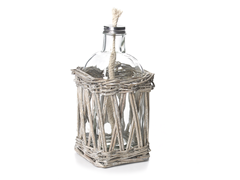 "Willow 9.3"" Oil Lantern with Wick"