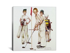 Four Sporting Boys: Golf (2-Sizes)
