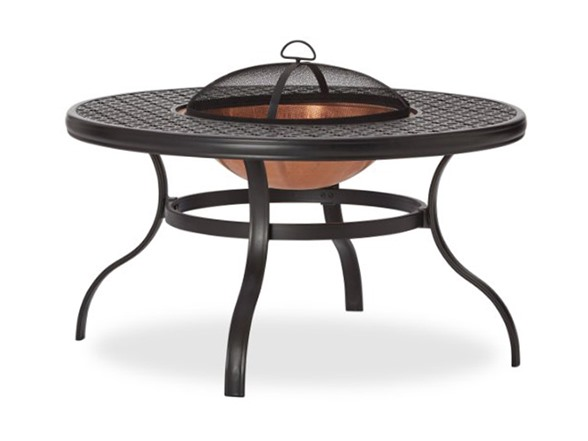 Strathwood Whidbey Cast Aluminum Fire Pit With Table
