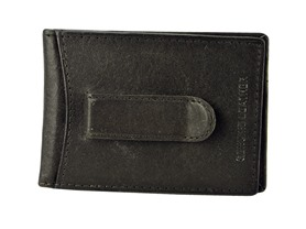 Leather Flip Clip Wallet - 2 Colors