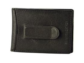 Leather Flip Clip Wallet - 2 Colors