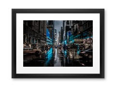 NY Blue Blues by nigel3 (2 Sizes)
