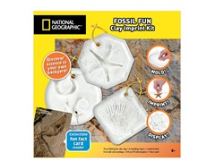 Air Dry Clay- Fossil Imprint Kit
