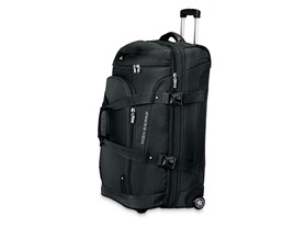 "32"" Wheeled Drop Bottom Duffel - Black"