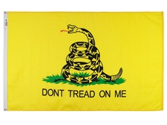 3'x5' Gadsden Nylon US Flag