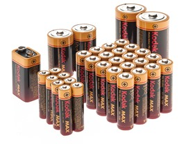 Kodak MAX Alkaline Battery Storage Kit