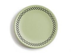 "K by Keaton Salad Plate 8.5"" Grass S/4"