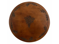 Thirstystone Bamboo Grapes Lazy Susan
