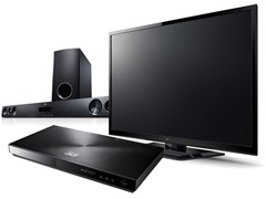 "LG 55"" LED 3D & Home Theater Bundle"