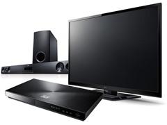 "LG 55"" LED 3D & Home Theater Bundle"