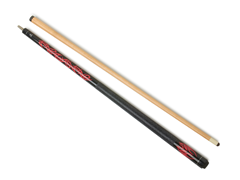 McDermott GM06 Red Tribal Pool Cue