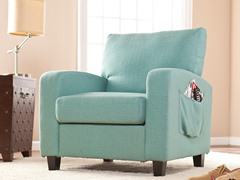 Kellyton Arm Chair - Turquoise