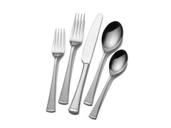 Mikasa 50pc Flatware Set-Contempo