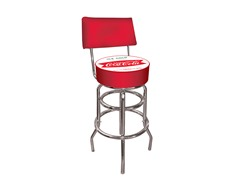Pub Stool w/Back Ice Cold Coca-Cola®