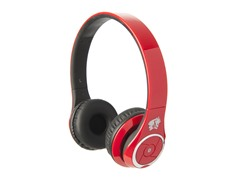 Stereo Bluetooth Headphones w/Mic - Red