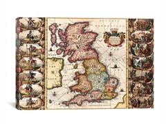 Antique Map Britannia 26x18