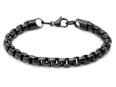 Black IP Chain Bracelet