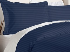 Duvet Cover Set-Navy-3 Sizes